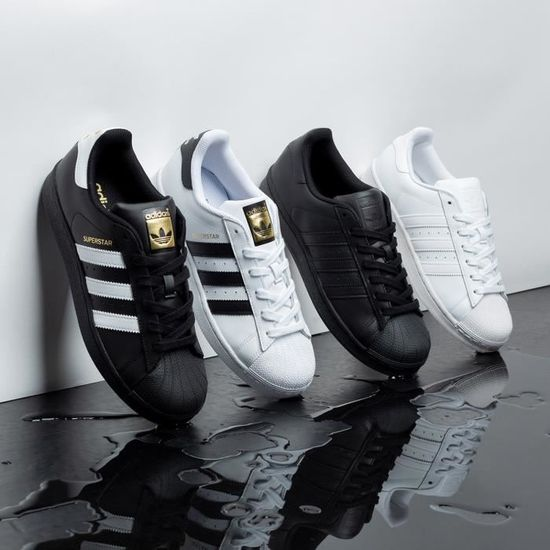 adidas originals superstar homme noir