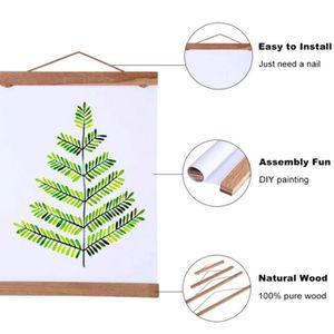 CADRE PHOTO Cadre Photo Mural Cadre en bois magnétique Porte-p