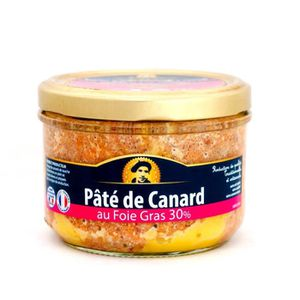 PATÉ - TERRINE Pâté de Canard au foie gras 30 % - IGP Gers - Dire