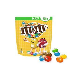 CONFISERIE DE SUCRE MARS Cacahuètes M&M's enrobées de chocolat au lait