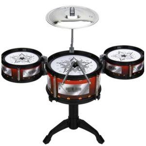 INSTRUMENT DE MUSIQUE Enfants Drum Set Batteries et Percussion Instrumen