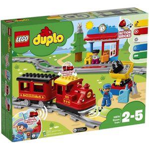 ASSEMBLAGE CONSTRUCTION LEGO® DUPLO® Ma Ville 10874 Le train à vapeur