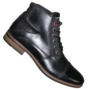 Chaussures Homme Boots Montantes Caps Noir Redskins mn0wN8