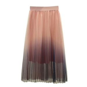 JUPE Multi couches longues femmes tulle net jupe prince