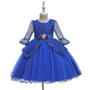 Filles Halloween Crânes Prom Queen Costume Robe Dressing up 5-14 ans