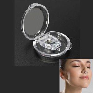 ANTI-RONFLEMENT Clip Pince Anti-ronflement Nez Sommeil en Silicone