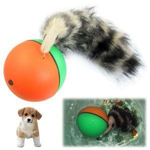 JOUET Jouet motorisé chat chien animaux balle électro...
