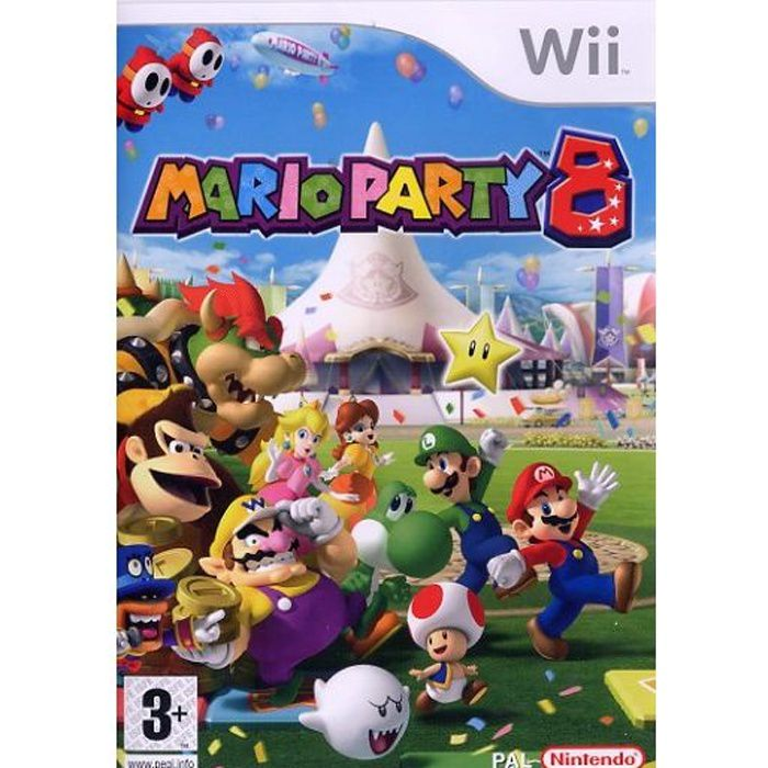 JEUX WII MARIO PARTY 8 / JEU Wii