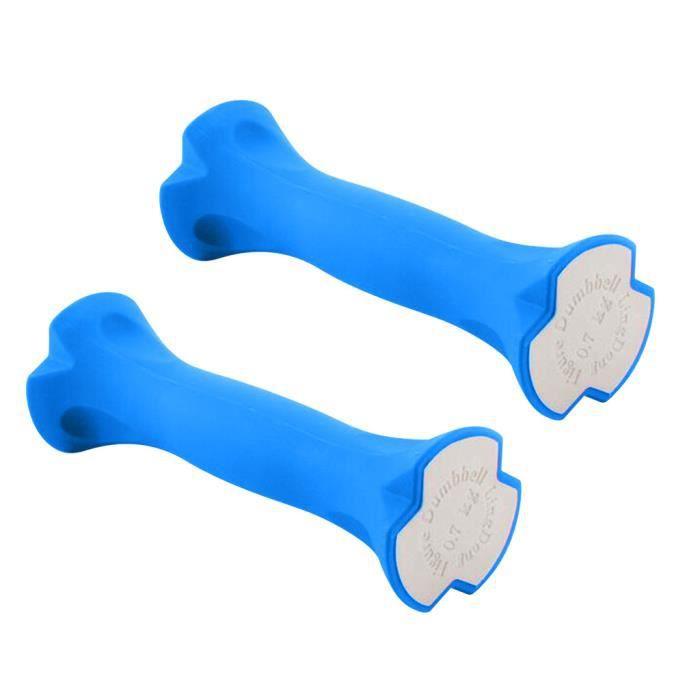 2PCS 3.1lb exercice haltères barre ergonomique haltères pour femmes FWT200526004BU