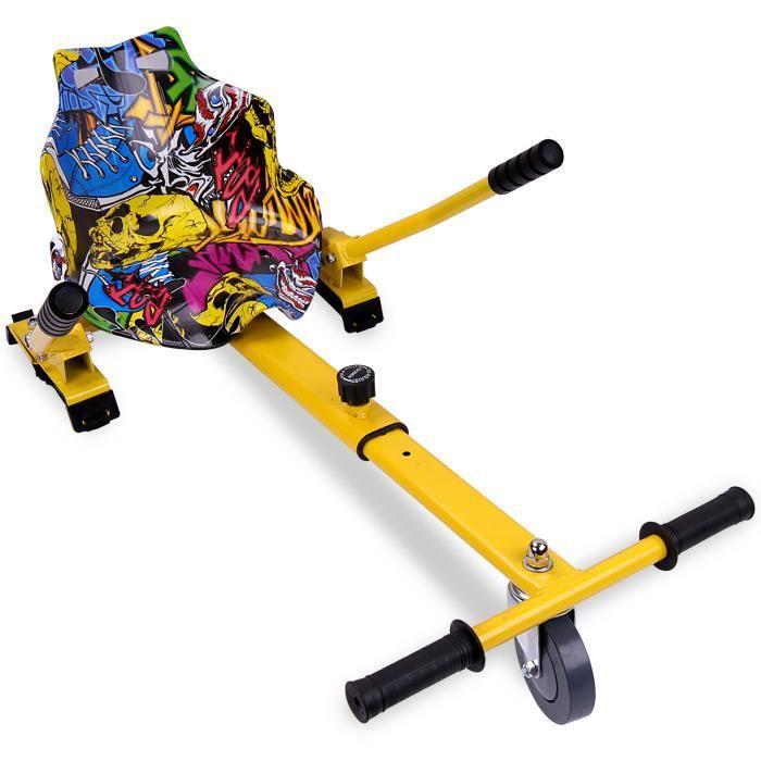 HoverKart Hoverboard Accessoir pour Gyropode Auto-Equilibré 6.5/8//8.5/10 Pouces Hip-Hop