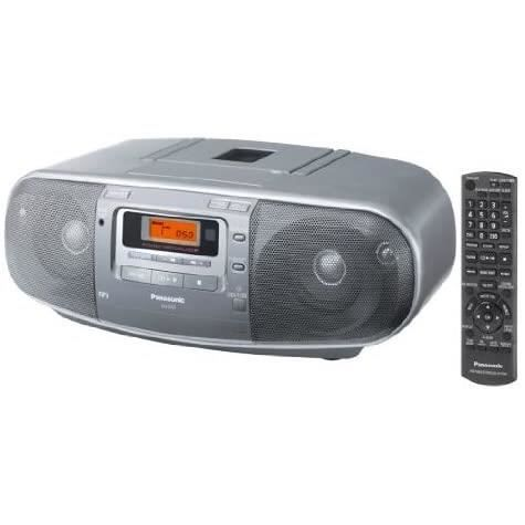 Panasonic RX-D 50 AEG-S Radio CD-cassette argent