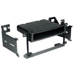 Adaptateur de façade d'autoradio simple DIN Noir Suzuki XL7 2003 >