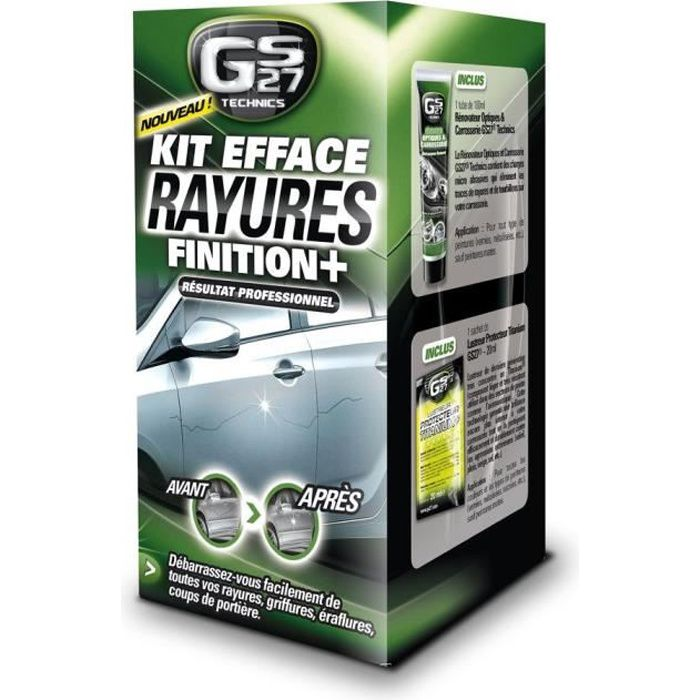 GS27 Kit Efface Rayures Finition+ - 8 pièces