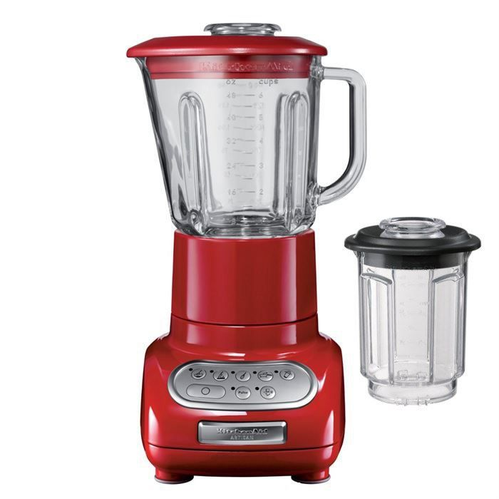 KITCHENAID 5KSB5553EER Blender classique Artisan - Rouge empire