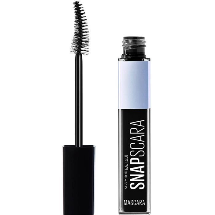 Maybelline MAS SNAPSCARA BLfr-it-nl 001 Pitch, Noir, Black, Précision, Volumisant, #151515, 22 mm, 56 mm