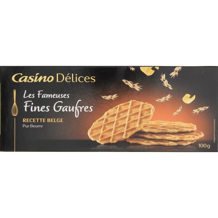 CASINO DÉLICES Fines Gaufres 100g