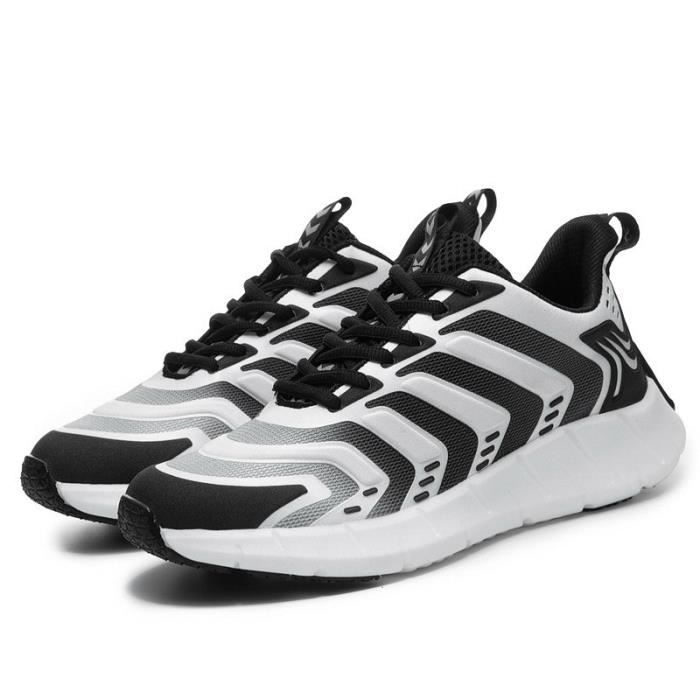 Baskets Homme - Grande taille respirantes loisir chaussures de sport - blanc LittleCat™