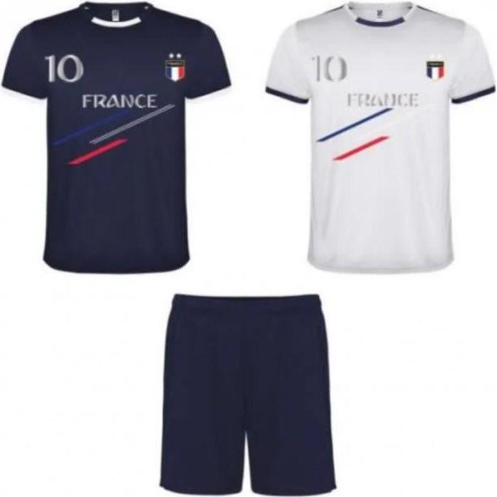 Ensemble foot enfant France 2 étoil