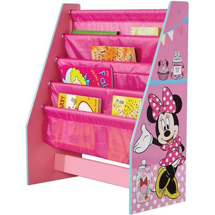 Bibliothèque Enfant Disney Minnie - Dim : 60 x 51 x 23 cm