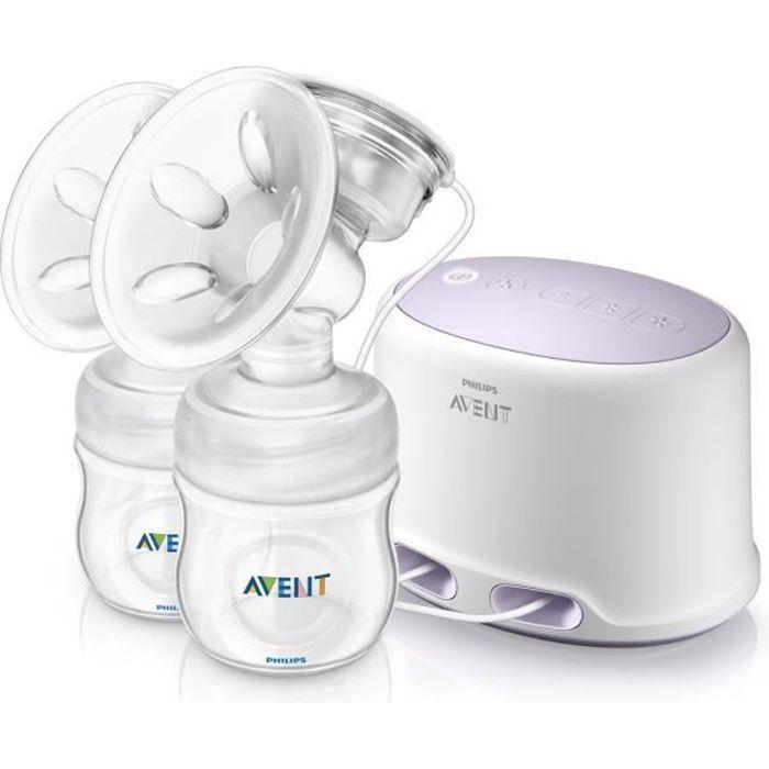 PHILIPS AVENT Kit d'allaitement SCF334/02 avec coussin masseur