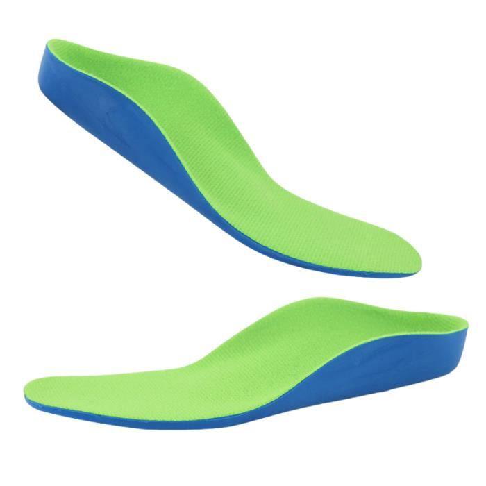 1 paire de semelles orthopédiques à pied plat utilitaire pratique pour les enfants JEU DE STICKERS