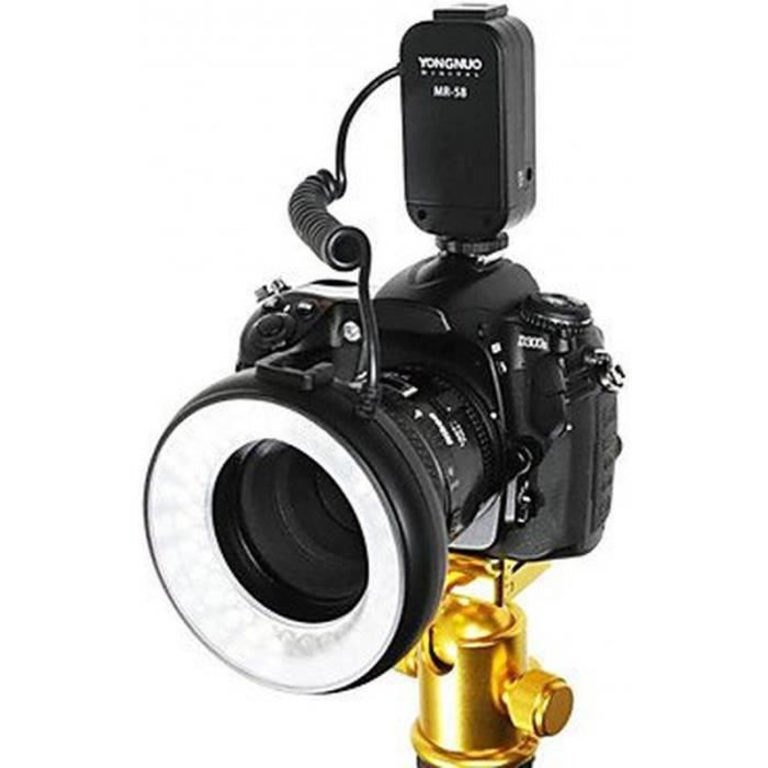 Gyf mr 58 58pcs led macro lumi re flash anneau achat - Ventes flash cdiscount ...