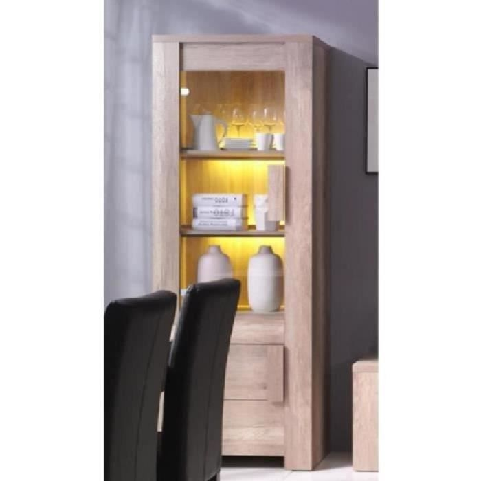meuble vitrine moderne achat vente pas cher. Black Bedroom Furniture Sets. Home Design Ideas