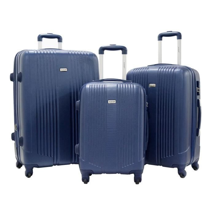 VALISE - BAGAGE Set de 3 Valises 55cm-65cm-75cm- Trolley ALISTAIR