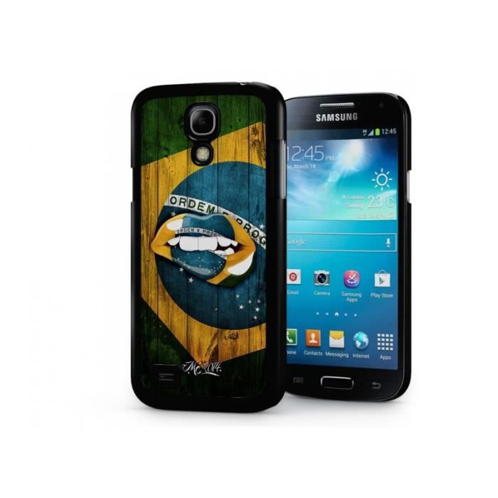 coque samsung galaxy s4 mini coupe du monde 2014 bresil. Black Bedroom Furniture Sets. Home Design Ideas