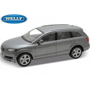 audi q7 gris 1 18 welly 3273276 achat vente voiture construire cdiscount. Black Bedroom Furniture Sets. Home Design Ideas