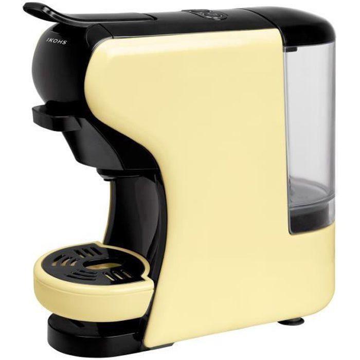 MACHINE À CAFÉ Machine à Café POTTS Vanille  IKOHS capsules et ca