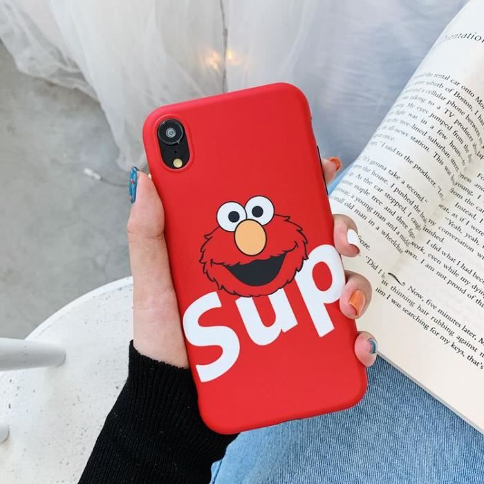 coque iphone 6 rouge supreme