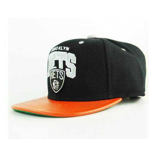 Mitchell /& Ness Brooklyn Nets Casquette pour adulte
