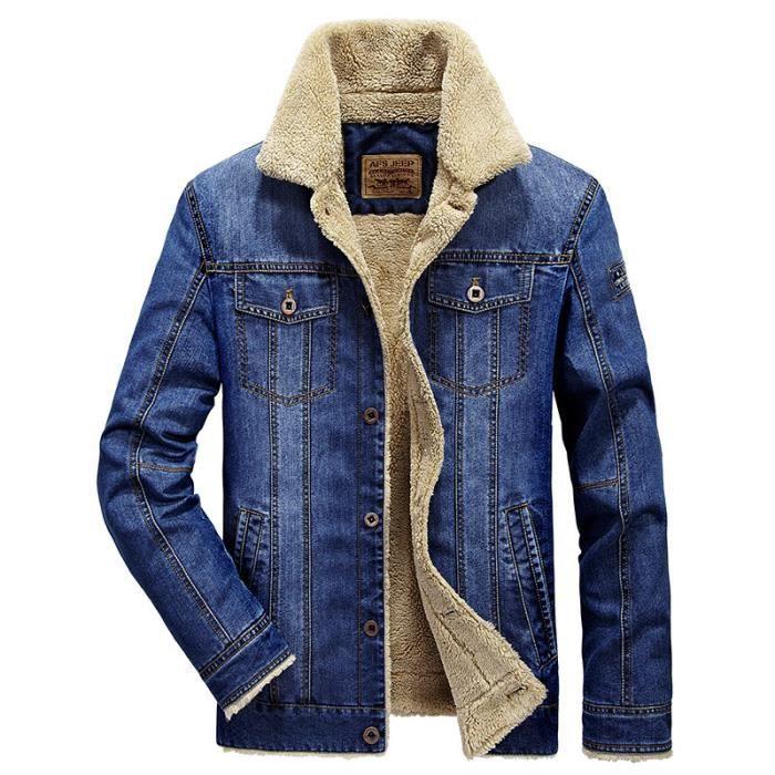 Veste Homme en jean a la mode de plus de