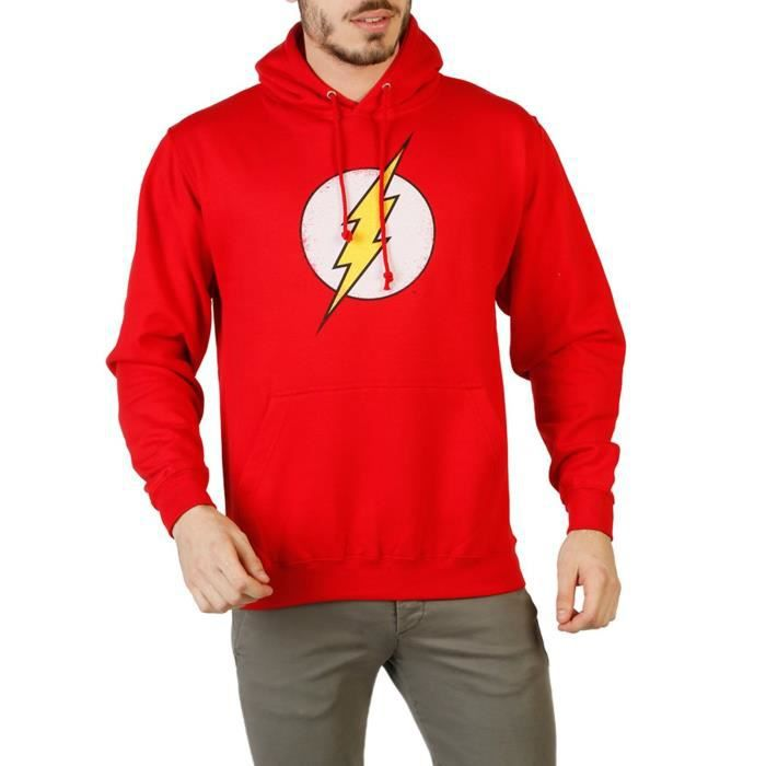 DC Comics Sweat à capuche Flash Rouge Rouge Achat