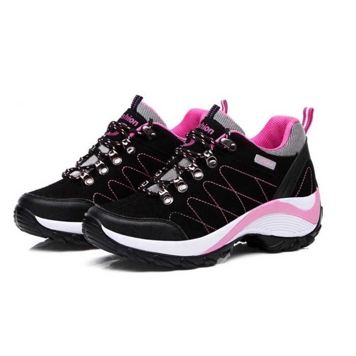 Jack Walker Femme Chaussures de Marche imperm/éables l/ég/ères et Respirantes pour la randonn/ée et Les Trek