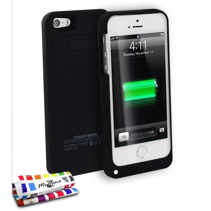 coque iphone 5 se rechargeable