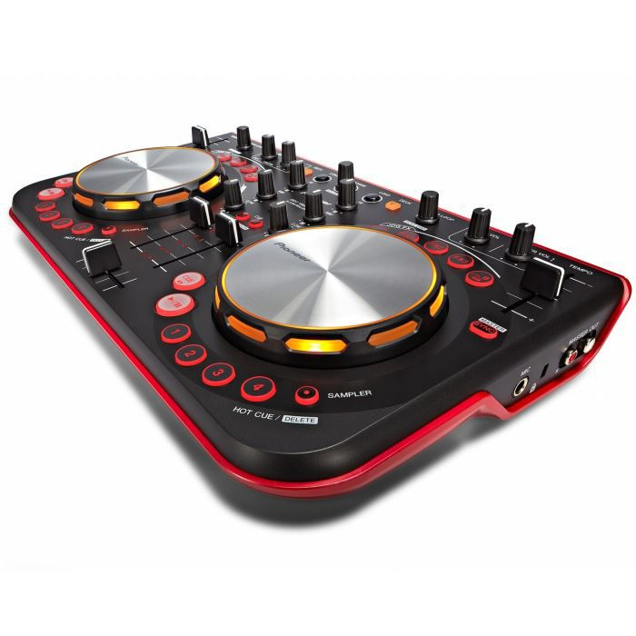 pioneer ddj wego rouge contr leur dj usb platine dj avis et prix pas cher cdiscount. Black Bedroom Furniture Sets. Home Design Ideas