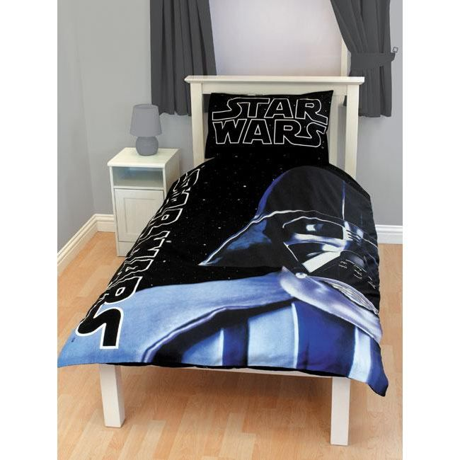 star wars parure housse de couette darth vader achat vente parure de couette cdiscount. Black Bedroom Furniture Sets. Home Design Ideas