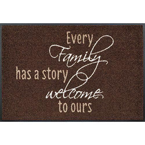 Wash dry 069874 family story tapis nylon caoutchouc for Tapis cuisine wash and dry