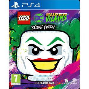 JEU PS4 LEGO DC Super-Vilains Deluxe Édition Jeu PS4