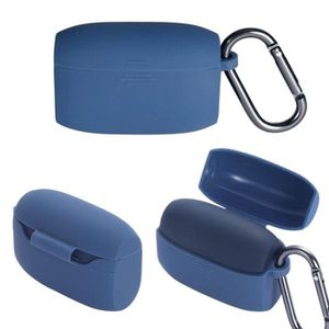 CASQUE - ÉCOUTEURS Housse de protection en silicone Bleu portable ave