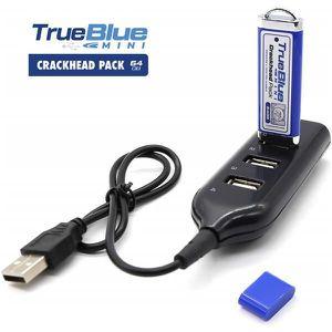 PACK ACCESSOIRE Pack mini-crackers True Blue de 64 Go pour jeux et