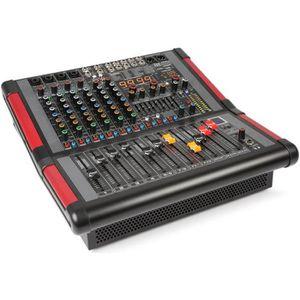 TABLE DE MIXAGE Power Dynamics PDA-S804A Table de mixage 8 canaux