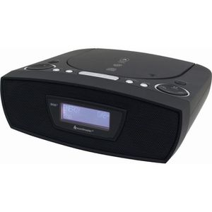 RADIO CD CASSETTE Soundmaster urd480 Dab + Radio Réveil CD-mp3, USB