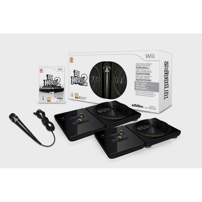 JEUX WII PACK DJ HERO 2 COLLECTOR / jeu console Wii