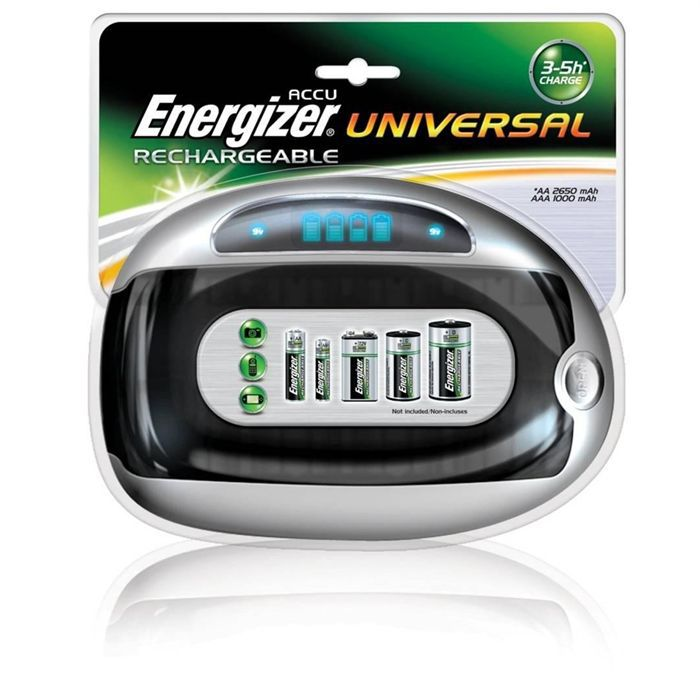 energizer chargeur universel achat vente chargeur de piles cdiscount. Black Bedroom Furniture Sets. Home Design Ideas