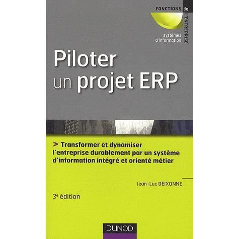 LIVRE GESTION Piloter un projet ERP