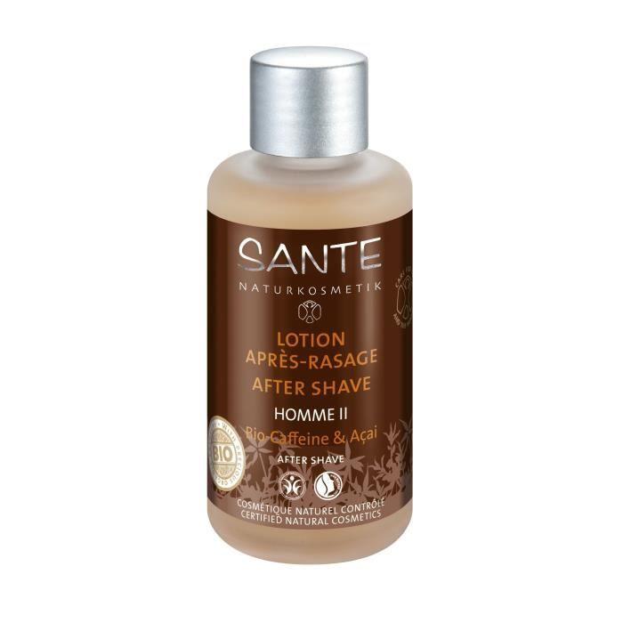 SANTE Lotion après-rasage Caféine et Açaï - Homme II - 100 ml