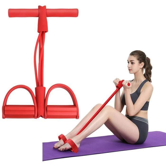 YUJY Bandes de résistance de Fitness en Salle Équipement d'exercice Élastique Sit Up Pull Corde Bandes d'entraînement Pédale de 722